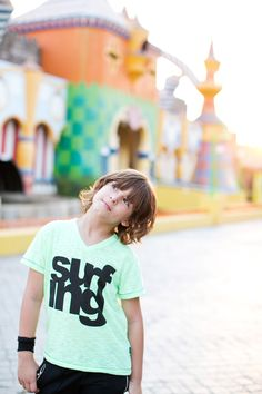 Let him be creative by choosing graphic t-shirts that accentuate his style.