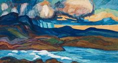Helmer Osslund - Cloudy Sky In The Mountains