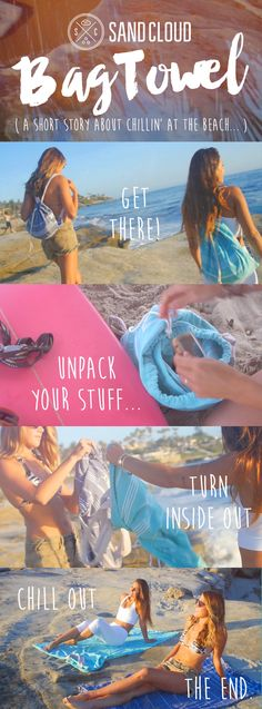 """It's more than a bag, much more than a towel... our Festival Bag Towel is a high quality backpack with a stylish Turkish towel sewn up inside. The zipper pocket can even fit a full 13"""" Macbook. And to top it all off, we donate 10% of net proceeds to preserve marine life!"""