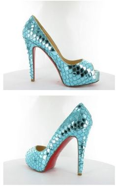 Christian Louboutin makes the prettiest shoes in the planet! These are a…