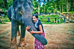 iiSuperwomanii and her new friend.