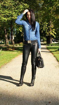#fashion #fashionista Monika jeans nero Stylish!: autumn is in the air