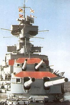 Photographic history of German Navy Ships of Sink The Bismarck, Gun Turret, Heavy Cruiser, Capital Ship, Military Pictures, Big Guns, Armada, Navy Ships, Hale Navy
