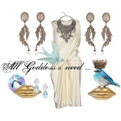 """All Goddess's need"" by lucy-rose-shepherd on Polyvore"