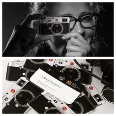 Business card for photographers Photo: Gabor Kanovits