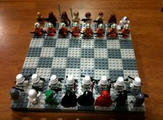 Star Wars, and Legos, and chess...oh my!