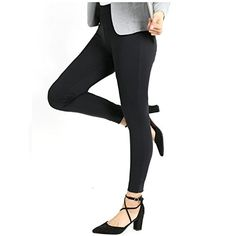 Bamans Yoga Dress Pants, High Waisted Black Workout Leggings For Women , Office Skinny Lined Leggings , Strechy - Baman is a brand which focuses on making great quality yoga pants for 20 years. What we pursuit is providing high quality products to all customers. Customer satisfaction is Bamans persistent motivation! Do you still seek for pants which is suitable for both workout and casual wearing? Want ...