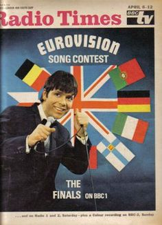 Radio Times at the Eurovision Song Contest. Come on Cliff!