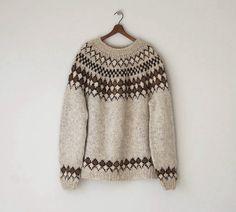 1970s Icelandic Wool Sweater | Reclaimer on Etsy