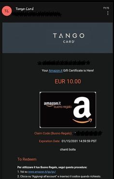 Arrivato altro Buono Amazon da 10 euro dal sito Opinion Bar, ottima piattaforma di sondaggi retribuiti. Cliccate nel link qua sotto e cominciate a guadagnare soldi dalla vostra abitazione.