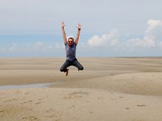 Jumping in the Baie de Somme | Girl in Florence Travel Blog