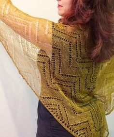 Ravelry: Cormier Grille Shawl pattern by Natalie Servant by kitty