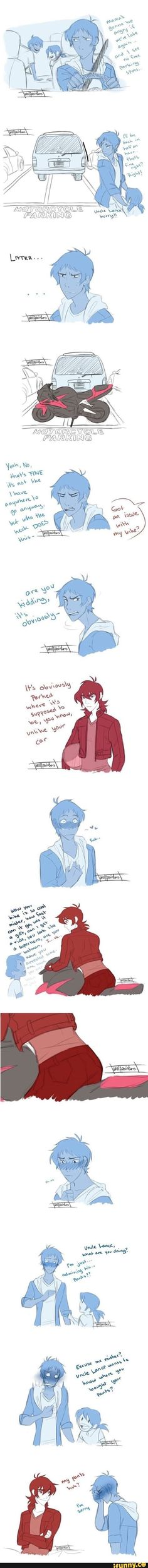 This has to be one of my fav klance comics
