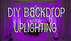 by Sandra Walter, Blessings Beloved Light Tribe, Our third wave of 2016 will be very significant to our Ascension process. There is much light intel presenting for this particular Gateway, here are… Pipe And Drape Backdrop, Diy Backdrop, Backdrops, Diy Wedding Uplighting, Wedding Reception Decorations, Black And Gold Theme, Dream Wedding, Wedding Fun, Wedding Planner