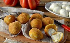 Mozzarelline fritte, dorate e gustose, con crosticina dorata