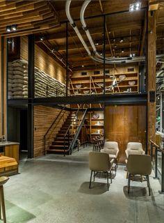 Starbucks Reserve Roastery Coffee Library