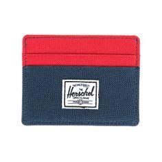 Herschel Supply Charlie Wallet - Navy & Red