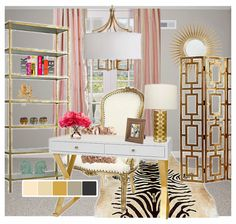 Simple #decor For The #office Space #gold | Color Love: Gold | Pinterest |  Office Spaces And Spaces