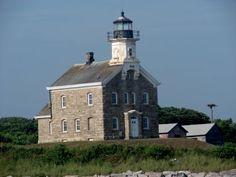 FARÓIS - SENTINELAS DO MAR: FAROL DE PLUM ISLAND - Plum Island, New York, E.U....