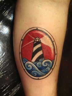Tattoo's For > Small Lighthouse Tattoo Ankle