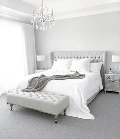 Anica Queen Size Bed Frame A timeless bedroom styled by J O.marie_b featuring our Anica Queen Size B Bedroom Bed Design, Room Ideas Bedroom, Home Decor Bedroom, Modern Bedroom, Contemporary Bedroom, Bedroom Frames, Bed Frame Design, Bedroom Neutral, Gold Bedroom