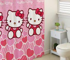 Hello Kitty shower fun!