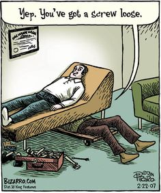 57 Hilarious Bizarro Comics Are Proof That Humor Is The Best Therapy Drawn by artist Dan Piraro, Bizarro is a single-panel cartoon strip that has been going since 1985 and has been published in over 360 newspapers and magazines. Cartoon Jokes, Funny Cartoons, Cartoon Posters, Funny Humour, Sarcastic Humor, Gary Larson Comics, Gary Larson Cartoons, Funny Picture Jokes, Funny Stuff