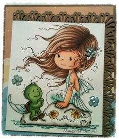 Loves Rubberstamps Design Team Member - Dangina Martinez - Sensational Sunday Inspirations - Wee Stamps from Whimsy