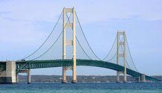 Mackinaw Bridge, Mackinaw City, Michigan