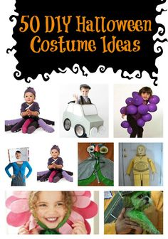 50 DIY Halloween Costume Ideas