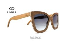 Lust - Walnut / Handmade Wooden Sunglasses / Made in Crete,Greece Wooden Sunglasses, 7 Deadly Sins, Handmade Wooden, Lust, Crete Greece, Trending Outfits, Unique Jewelry, Shopping, Collection
