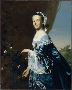 Mrs. James Warren (Mercy Otis), about 1763, John Singleton Copley | Museum of Fine Arts, Boston