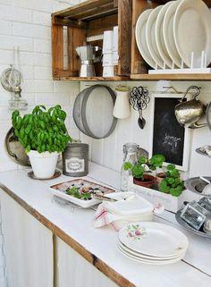 #cocina #cajones #madera