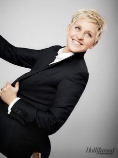 Ellen DeGeneres' Cover Shoot