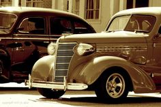 """Tea Cake bought an old car to take Janie to their new home in """"the muck""""."""