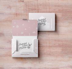 Psd Postcard Box Mockup | Psd Mock Up Templates | Pixeden