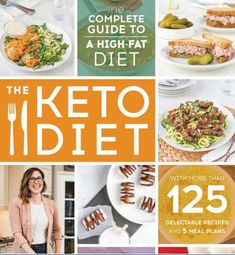 The Keto Diet: The Complete Guide to a High-Fat Diet, with More Than 125 Delectable Recipes and 5 Meal Plans to Shed Weight, Heal Your Body, and Regain Confidence. This is a great book for anyone who is starting a keto diet. Low Carb High Fat, High Fat Diet, Low Carbohydrate Diet, Low Carb Diet, Keto Fat, 7 Keto, Cholesterol, Low Carb Recipes, Diet Recipes