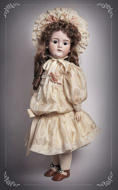 antique doll Kley & Hahn Walkure
