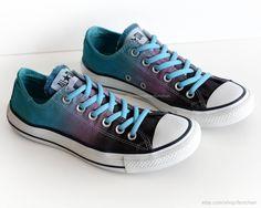 ca7b112be3ef Ombré dip dye Converse
