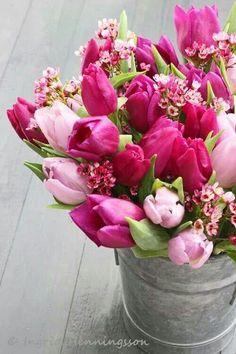 Beautiful spring bouquet♡♥