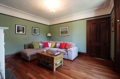 3 bed Farmhouse for sale in Dollar, - McEwan Fraser Legal Estate Agents and Solicitors Dollar, Corner Desk, Living Rooms, Farmhouse, Couch, Bed, Furniture, Home Decor, Corner Table