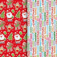 CardsAndGiftsDirect | Rakuten.co.uk Shopping: 2 x 8 Metre Rolls of Christmas Gift Wrap - Mixed Designs Wrapping Paper  (16m in total)  2 x 8 Metre Rolls of Christmas Gift Wrap - Mixed Designs Wrapping Paper  (16m in total): 412170 from CardsAndGiftsDirect | Rakuten.co.uk Shopping