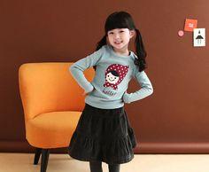 wholesale autumn joker kids clothing girls shirt children long-sleeved shirt