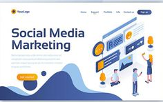 Modern concepts of landing pages or web pages design for website and mobile website. Landing page is the key of any website when people land by clicking link on Event Landing Page, Landing Page Html, Landing Page Design, Page Template, Website Template, Psd Templates, Header Design, Web Design, Concept Web