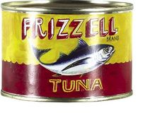 Dick Frizzell  Tuna    For those who laughed when I bought 3 cans for $20 each... read 'em and weep!  1275% increase in 10 years... booyaa!    screenprint on found Tuna can  Portrait of a Serious Artiste  100 x100 x 70mm  $50 - $150   SOLD FOR $275