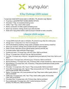 Yummy food plan to make your 8 day ignite successful!!!