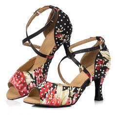 D1067  Ladies Ballroom latin dance shoes discount price dance shoes ship worldwide