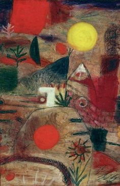 Paul Klee, Feier und Untergang, 1920, Private collection