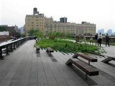 The High Line is an urban oasis filled with beautifully manicured landscapes situated upon the old elevated train tracks that were installed as part of the West Side Improvement Project back in 1929. The elevated train tracks originally ran 13 miles from 34th Street to Spring Street, however the southern end of the tracks were demolished in the 1960s to make room for developers.