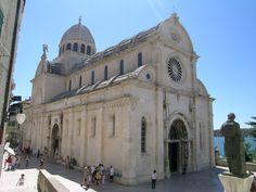 The Cathedral of St. Jacob in Sibenik, Croatia.  -  photo  by PrzemekN
